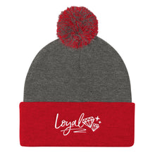 New Loyal Pom Pom Knit Cap