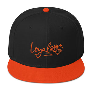 New Loyal  Orioles All Orange/Black Snapback Hat