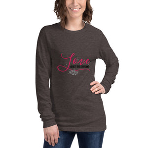 Loyalty Over Everything Long Sleeve T-Shirt