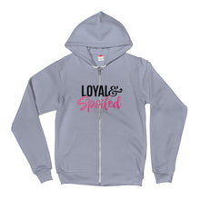 Loyal & Spoiled Zip Hoodie sweater