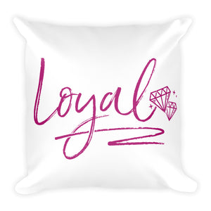 Loyal Square Pillow