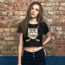 Loyal All Knight Hockey Queen Crop Top ( New!)