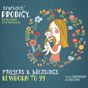 Music CD Album - Newborn Prodigy, Blessing Children from the Womb and Beyond (English)