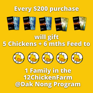 12ChickenFarm @DakNong FAMILY Pack