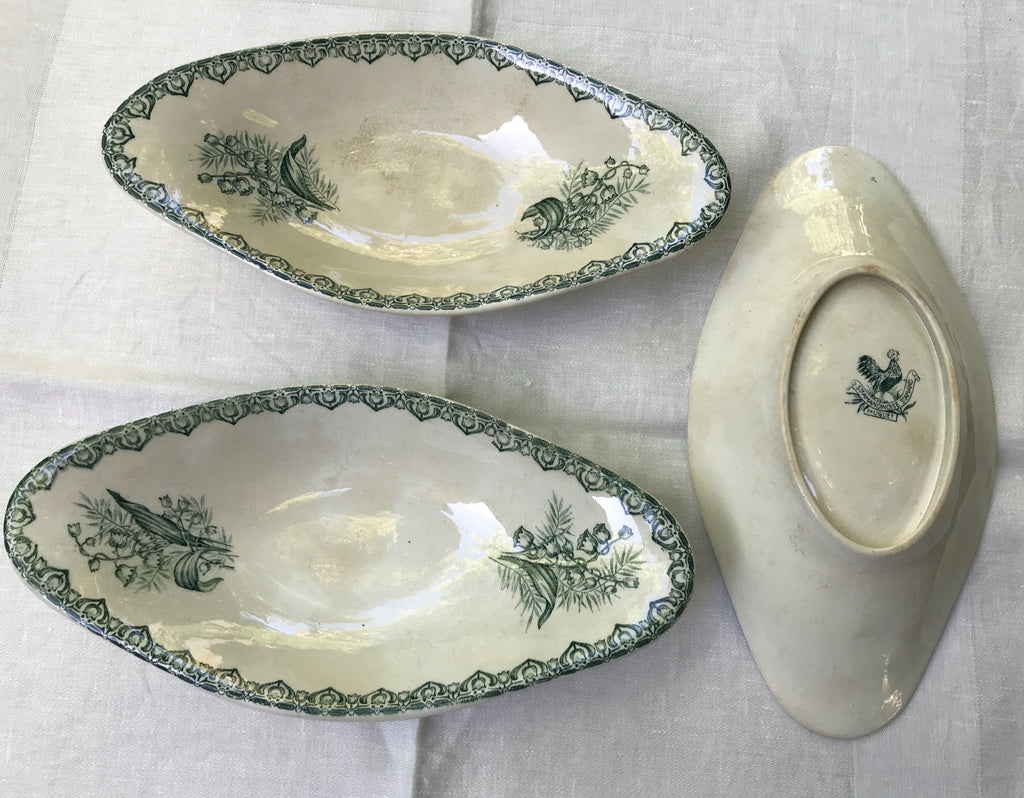 Vintage French Porcelain Dishes