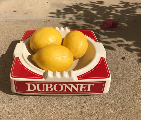 Vintage Dubonnet Ashtray