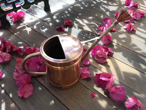 Vintage French Copper Watering Can