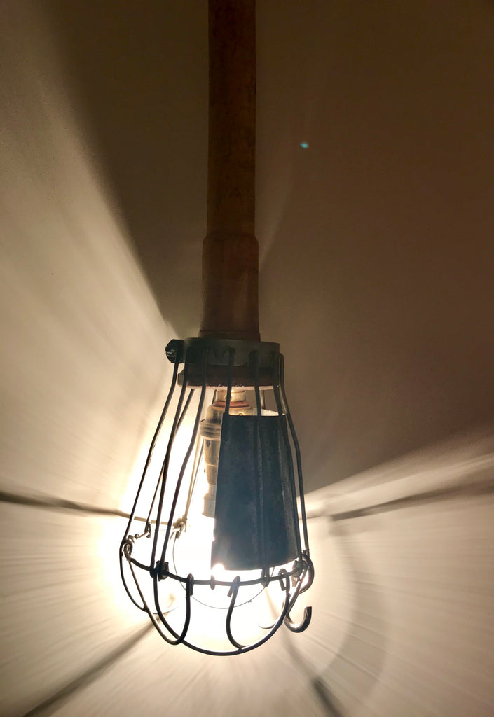 Vintage french Work Light