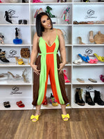 RUDY JUMPSUIT-LIME