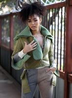 Mustang Coat - Olive