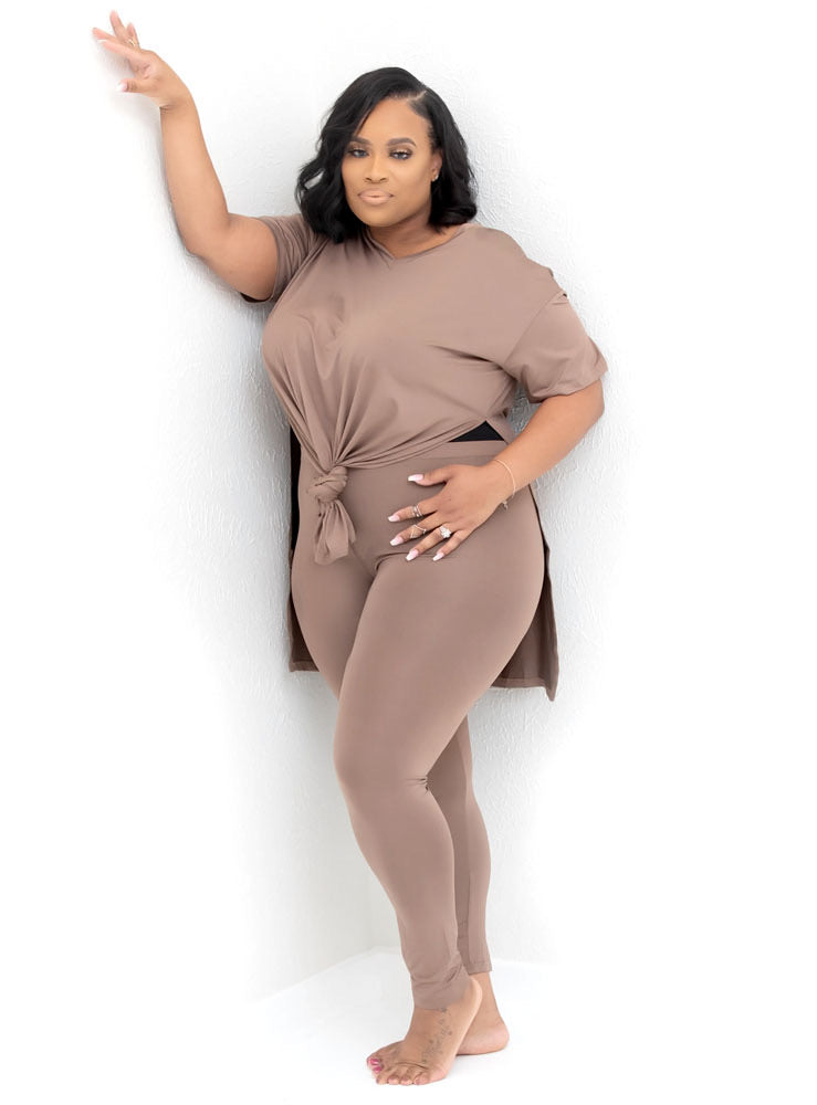 Jade 2pc Taupe Set