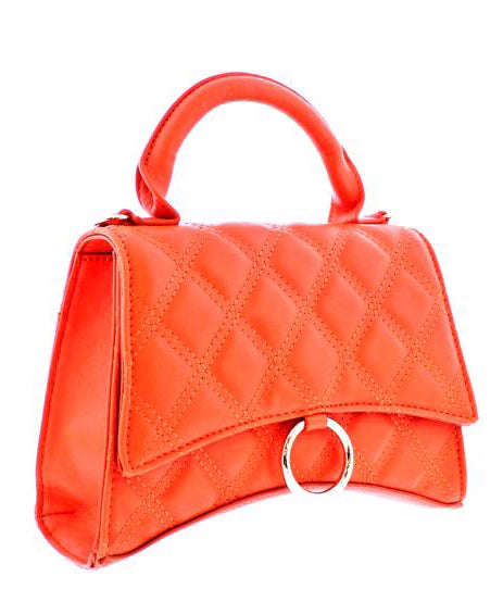 PALACE BOX HANDBAG - ORANGE