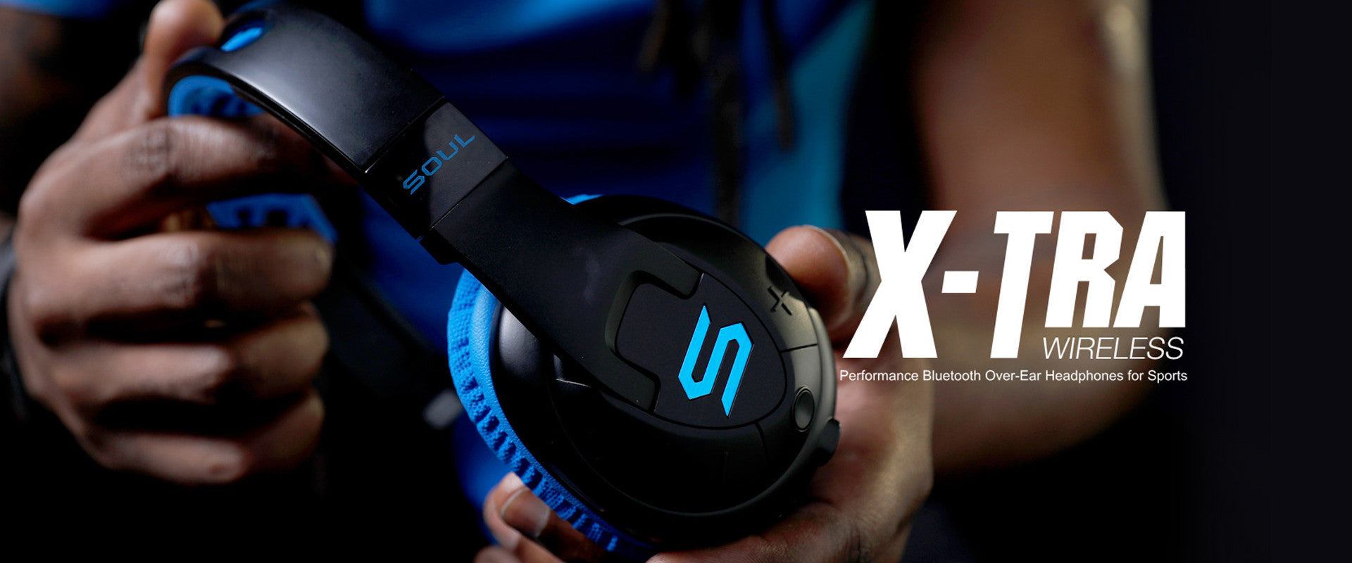 X-tra performance bluetooth over ear sports headphones