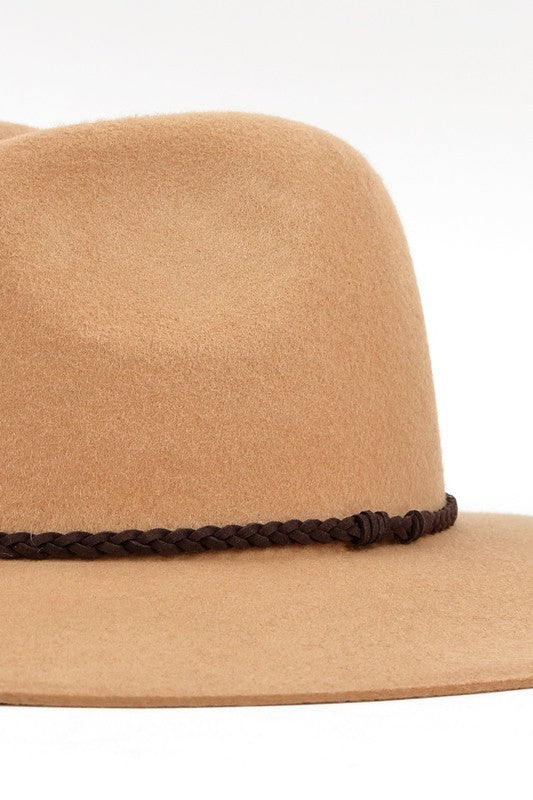 Wool Brim Hat
