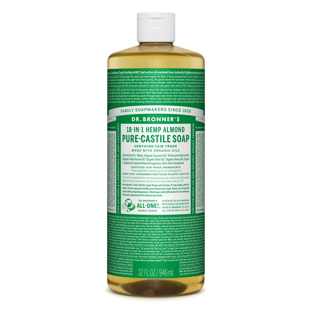 Dr Bronner's Pure Castille Liquid Soap - Almond