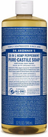 Dr Bronner's Pure Castille Liquid Soap - Peppermint