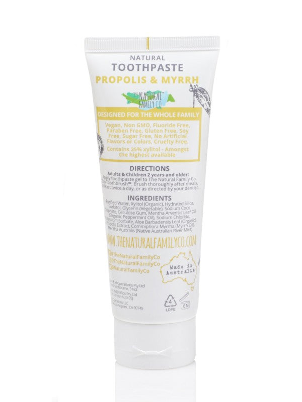 The Natural Family Co Toothpaste Propolis & Myrrh