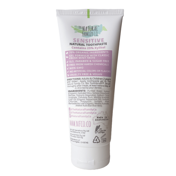 The Natural Family Co Toothpaste Sensitive