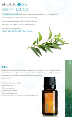 Epoch Brisk Essential Oil