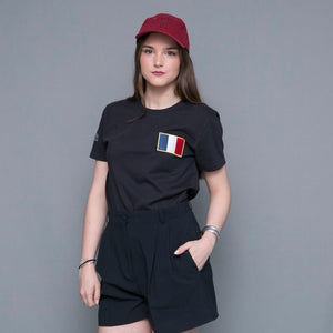 Tee-shirt drapeau France coton bio - komorebiworld.com