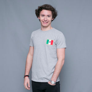 Tee-shirt drapeau Mexique coton bio - komorebiworld.com