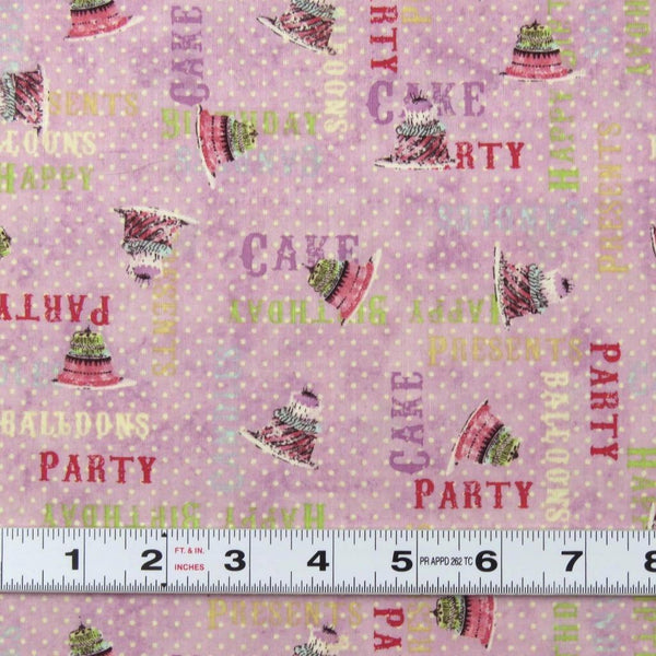 Lot L752 * HULLABALOO by Clothworks - Patchwork Fabric by the ½ metre