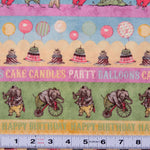 E152 - HULLABALOO - #Y1390-54 - by Clothworks - Patchwork Fabric by the 1/2 metre