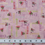 E164 - HULLABALOO - #Y1392-26- by Clothworks - Patchwork Fabric by the 1/2 metre