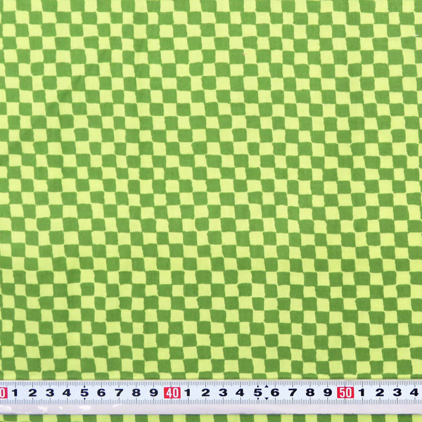 S1008 * CLOWN CHECK by Michel Miller #C482 - Patchwork Fabric by the 1/2 metre