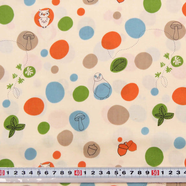 S985 * DAY AT THE ZOO by Camelot #31410-1 - Patchwork Fabric by the 1/2 metre