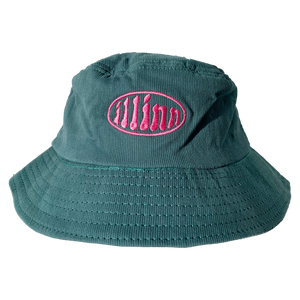 Classic Corduroy Bucket (Dark Green)