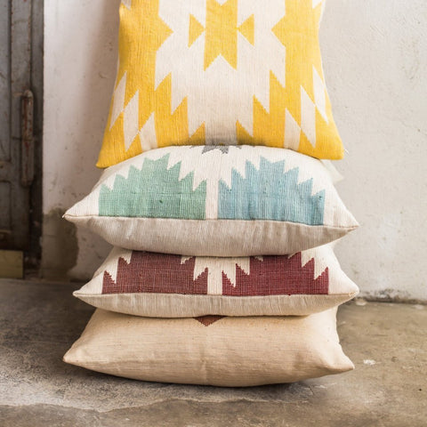 Mother Earth Yellow Cushion