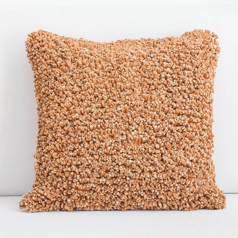 Handmade Popcorn Cotton Cushion Cover