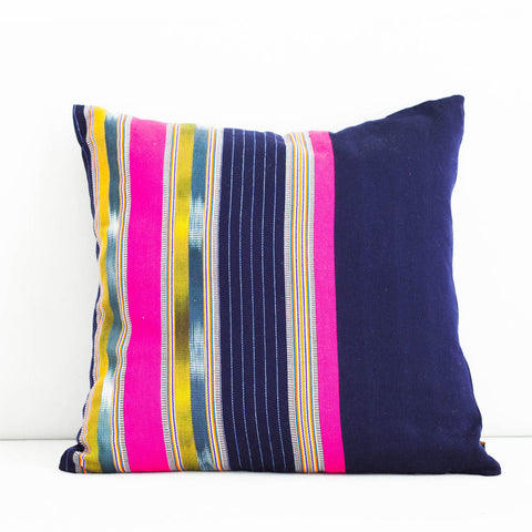 Handmade Sankampang Cotton Cushion