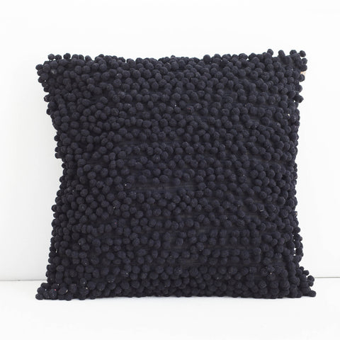 Handmade Pompom Cotton Cushion Cover