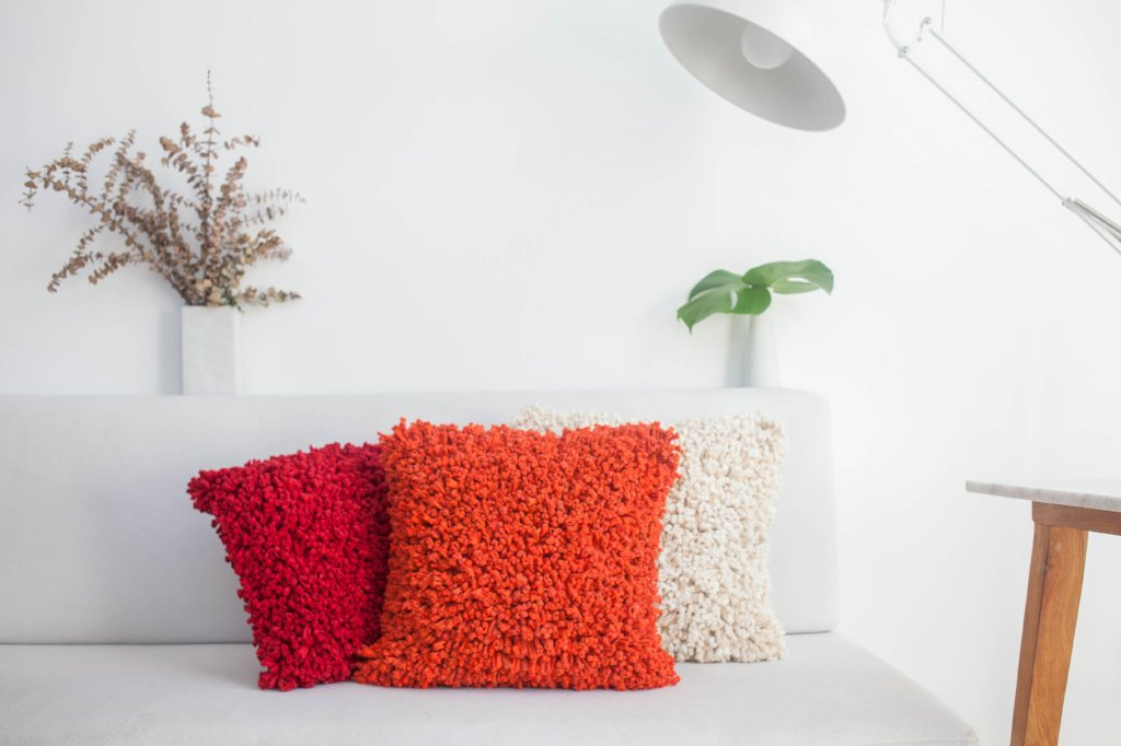 Spaghetti Cushion Cover