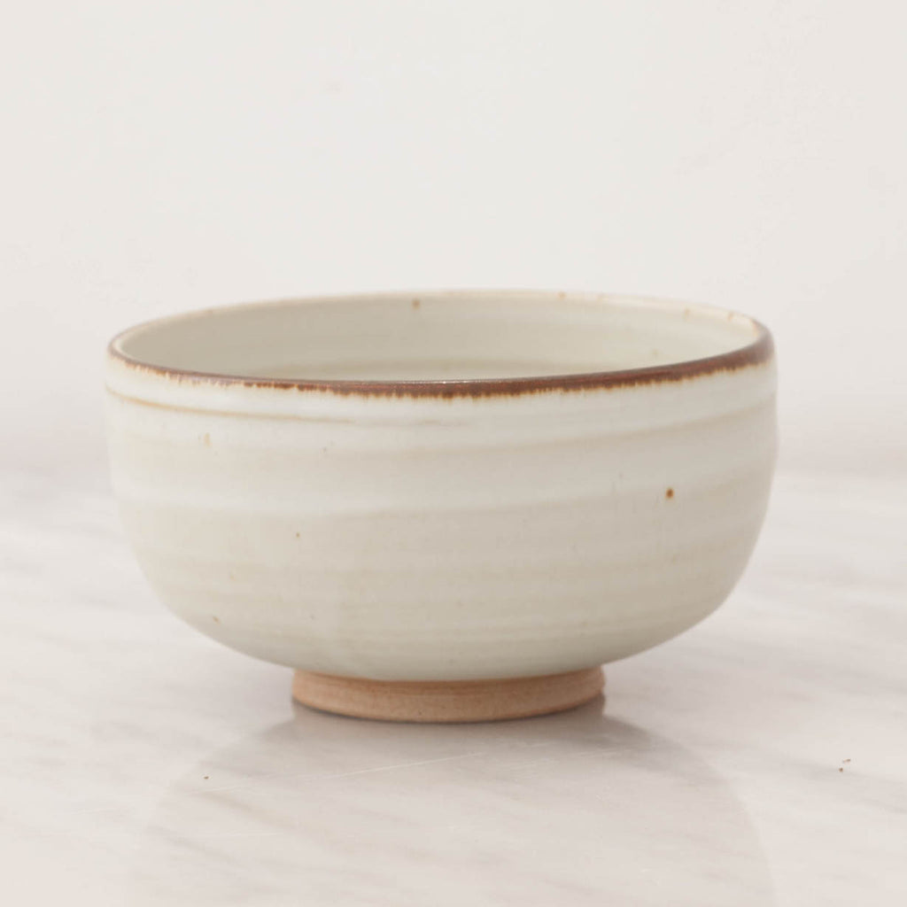 Rimmed Earth Stoneware Bowl