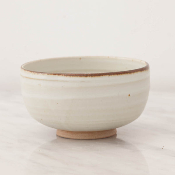 Artisan Rimmed Earth Stoneware Bowl