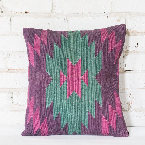 Mother Earth Purple Cushion