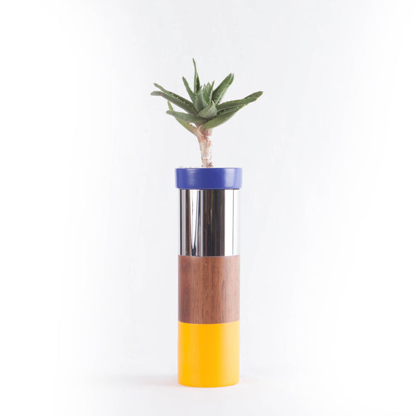 TO-TEMS SERIE Indigo Plant Pots & Stands