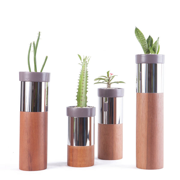 TO-TEMS SERIE Natural Plant Pots & Stands