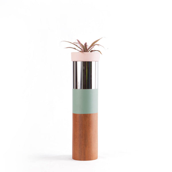 TO-TEMS SERIE Pastel Plant Pots & Stands
