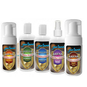 SALE! Last stocks. Jantana Complete Color Collection - tan, scrub, mositurizer, glaze
