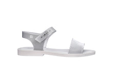 MELISSA MAR SANDAL CHROME (WHITE-SILVER)