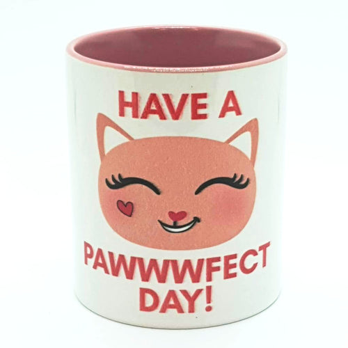 Have a Pawwwfect Day Kitty Mug