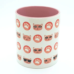 Kitty Faces Mug