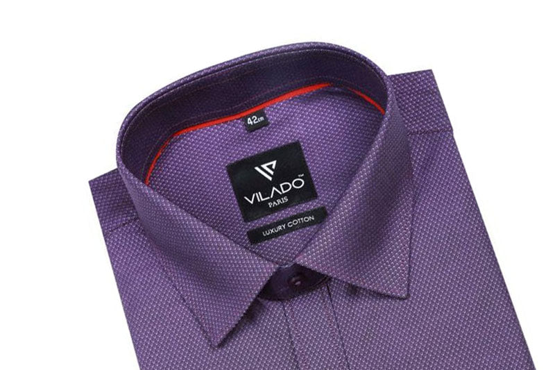 Vilado Paris Men's Shirt Regular Fit Premium Cotton Modern Style