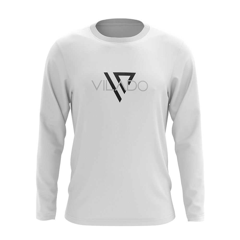 Vilado Off White Full-sleeve T shirt For Men