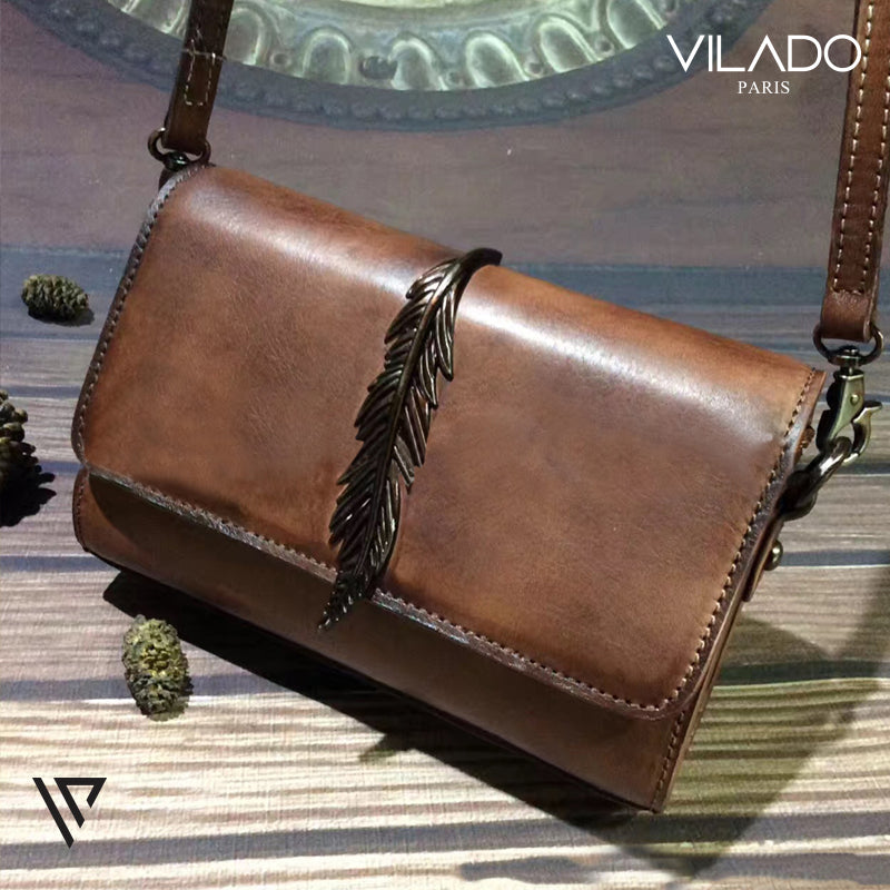 Top Grade Leather Shoulder Bag for Woman