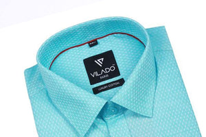 Men's Formal Shirt Regular Fit Premium Cotton By Vilado Paris